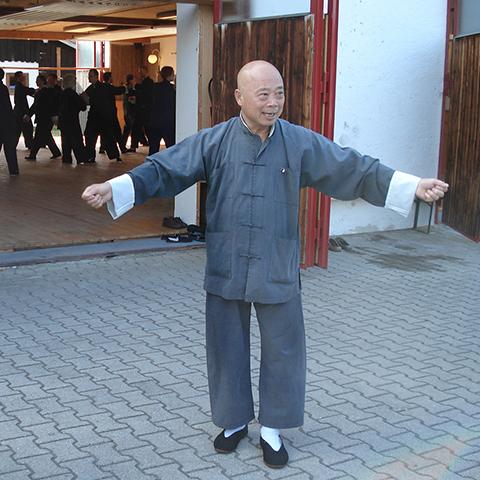 Großmeister Chu King-hung beim Unterricht in Agatharied - Foto: Ralf Eiser