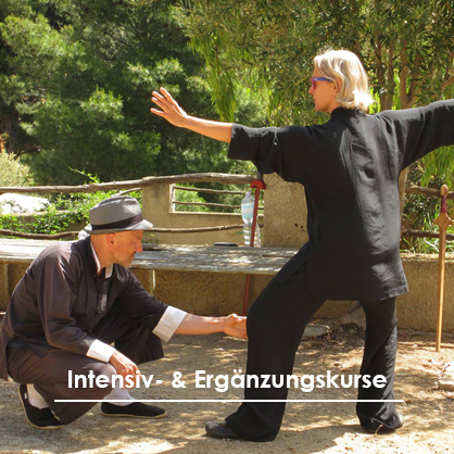 Test der Positionen in der Tai Chi Form