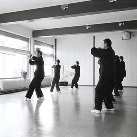 Übungsraum der tai Chi Schule München