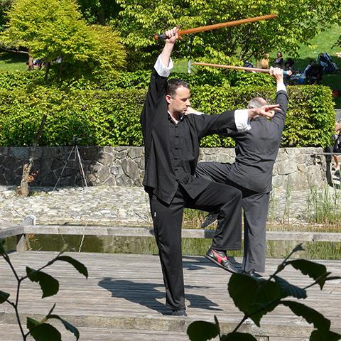 Auftritt Vesakh-Fest 2012, Schwertform