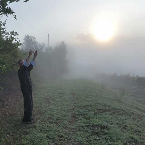 Toscana Qi Gong zum Sonnenaufgang